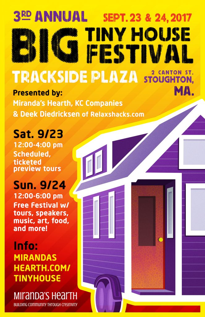 3rd Annual Big Tiny House Festival @ Trackside Plaza | Stoughton | Massachusetts | United States