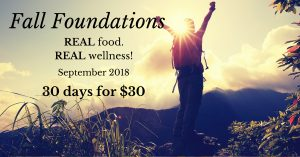 Fall Foundations e-Course