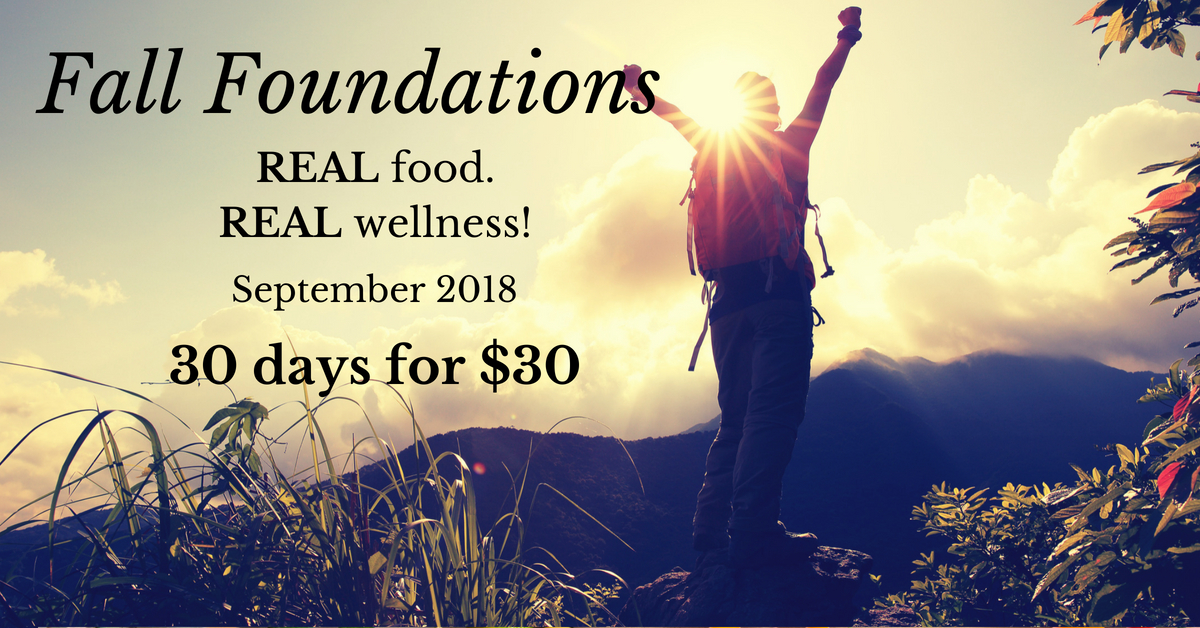 Fall Foundations FB AD Image