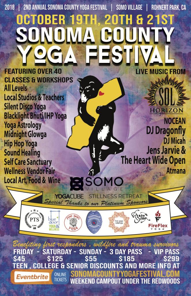 China Rose Wellness ELIXIR LOUNGE at the Sonoma County Yoga Festival @ SOMO Village | Rohnert Park | California | United States