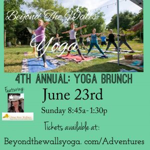 Beyond the Walls Yoga 4th Annual Yoga Brunch @ Casa de Saavedra