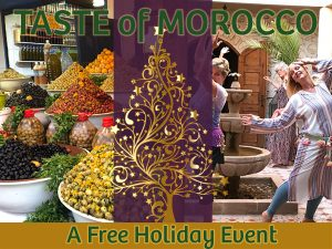 Taste of Morocco Holiday Gathering ~ Palm Springs @ Yoga Bliss