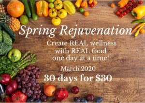 Spring Rejuvenation e-Course @ Online Event